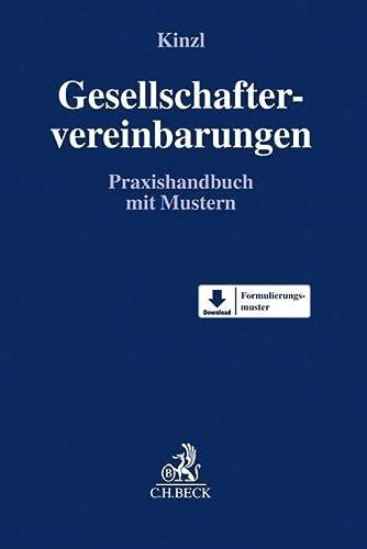 9783406650512: Gesellschaftervereinbarungen: Praxishandbuch mit Mustern