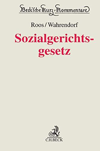 Sozialgerichtsgesetz - SGG: Elke Roos