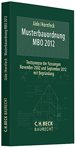 Musterbauordnung Mbo Zvab