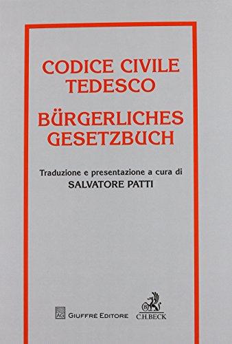 Codice Civile Tedesco: Salvatore Patti