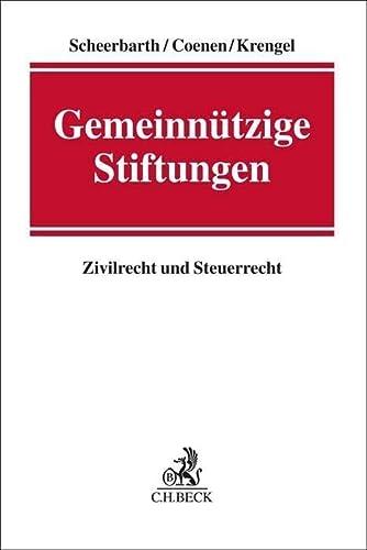 9783406656576: Gemeinnützige Stiftungen: Zivilrecht und Steuerrecht