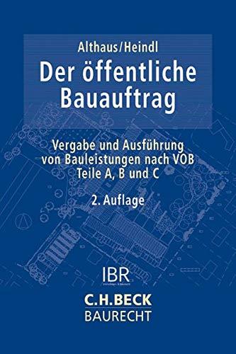 Der öffentliche Bauauftrag: Stefan Althaus