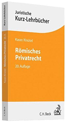 9783406656729: Römisches Privatrecht