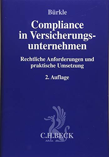 Compliance in Versicherungsunternehmen: Jürgen Bürkle