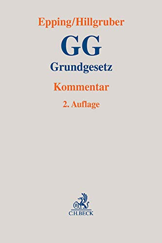 9783406656774: Grundgesetz: Kommentar