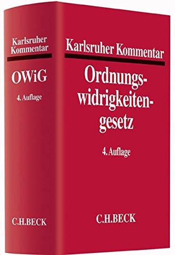 Karlsruher Kommentar zum Gesetz über Ordnungswidrigkeiten: Lothar Senge