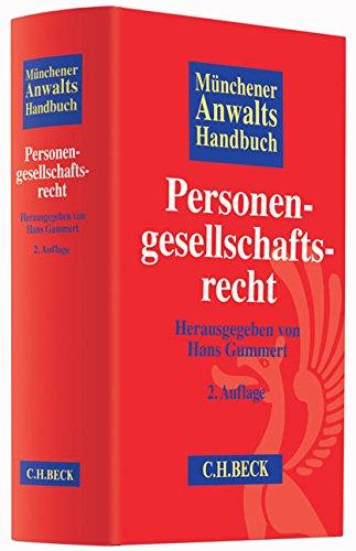 9783406662935: Münchener Anwaltshandbuch Personengesellschaftsrecht
