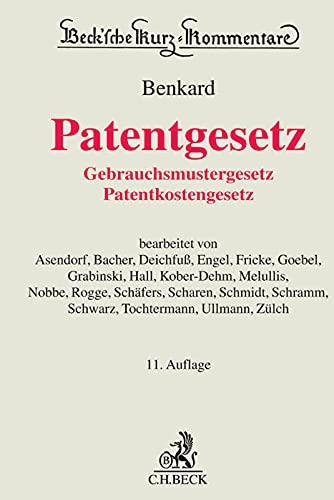 Patentgesetz: Georg Benkard