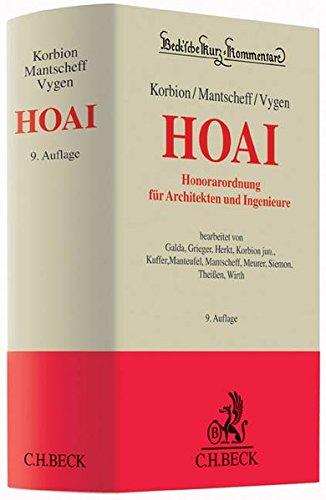 Honorarordnung für Architekten und Ingenieure: Hermann Korbion
