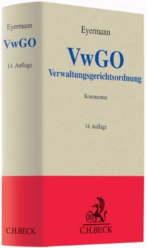9783406665677: Verwaltungsgerichtsordnung