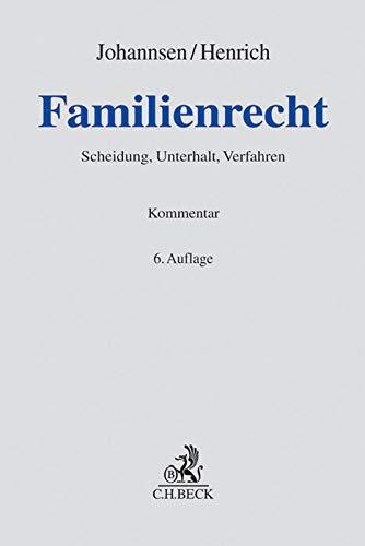 Familienrecht: Dieter Henrich