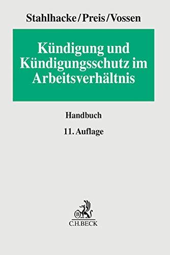 Kündigung und Kündigungsschutz im Arbeitsverhältnis: Eugen Stahlhacke