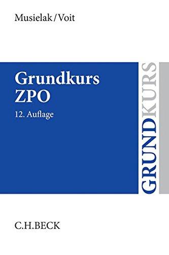 9783406666780: Grundkurs ZPO