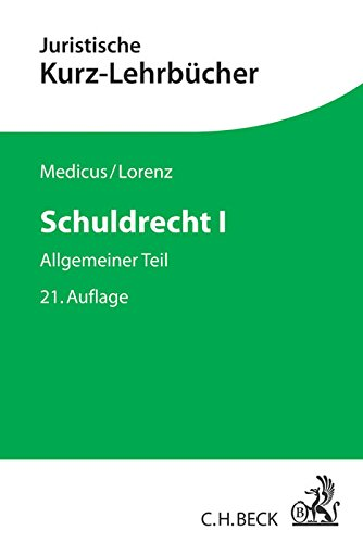 9783406667367: Schuldrecht I