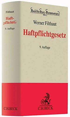 Haftpflichtgesetz: Werner Filthaut