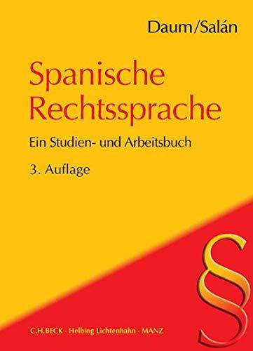 Spanische Rechtssprache: Ulrich Daum