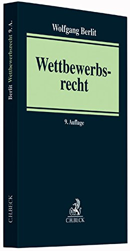 Wettbewerbsrecht: Wolfgang Berlit