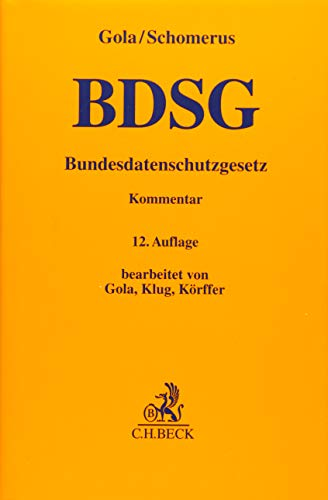 9783406671760: BDSG: Bundesdatenschutzgesetz