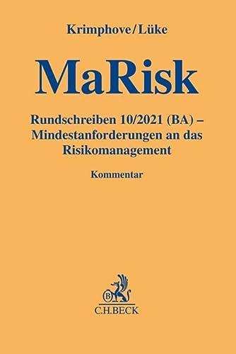 9783406672835: MaRisk - Mindestanforderungen an das Risikomanagement