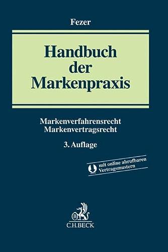 9783406672910: Handbuch der Markenpraxis