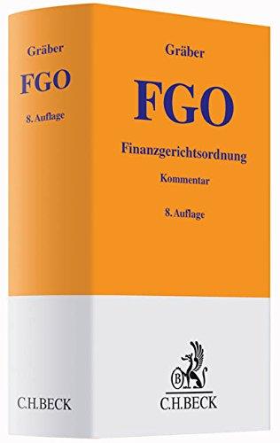 Finanzgerichtsordnung: Fritz Gr�ber