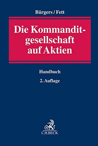 Die Kommanditgesellschaft auf Aktien: Tobias Bürgers