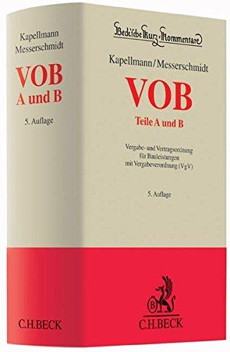 VOB Teile A und B: Klaus D. Kapellmann