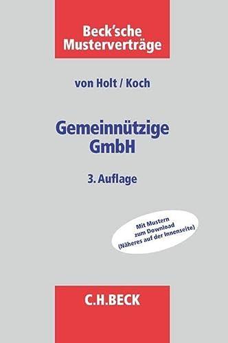 9783406676246: Gemeinn�tzige GmbH