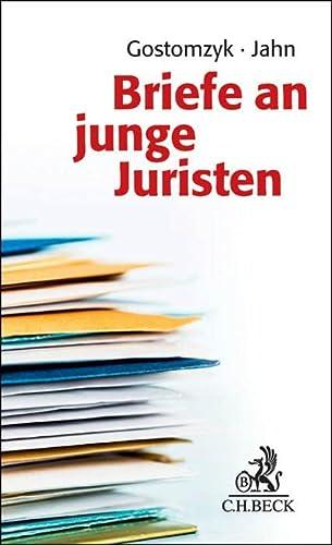 9783406676536: Briefe an junge Juristen