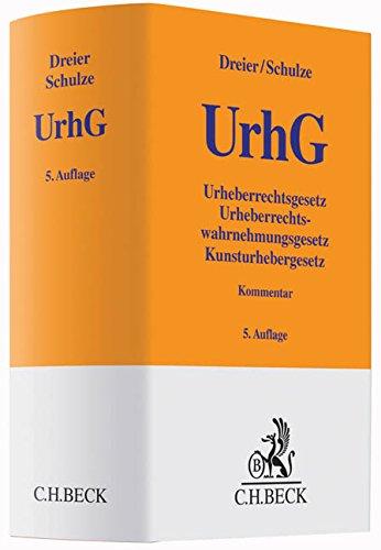 9783406676963: Urheberrechtsgesetz: Urheberrechtswahrnehmungsgesetz, Kunsturhebergesetz