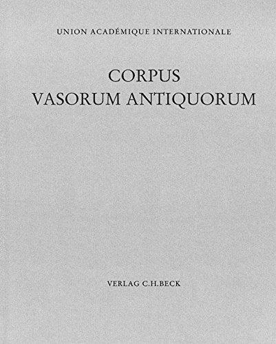 Corpus Vasorum Antiquorum, Deutschland München. Bd.18: Elke B�hr
