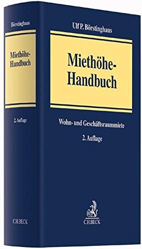 Miethöhe-Handbuch: Ulf P. Börstinghaus