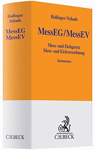 Mess- und Eichgesetz, Mess- und Eichverordnung: Friedrich Hollinger