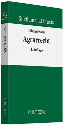 Agrarrecht: Christian Grimm