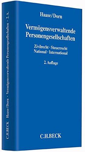 Vermögensverwaltende Personengesellschaften: Florian Haase