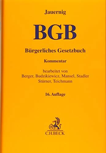 Bürgerliches Gesetzbuch: Rolf St�rner