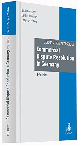 Commercial Dispute Resolution in Germany: Stefan Rützel