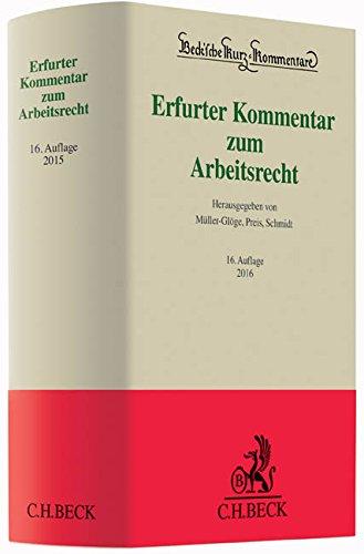 9783406683091: Erfurter Kommentar zum Arbeitsrecht