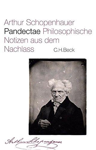Pandectae: Arthur Schopenhauer