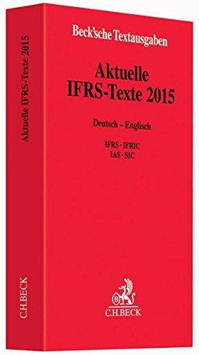 9783406683848: Aktuelle IFRS-Texte 2015