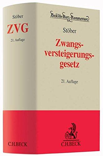 Zwangsversteigerungsgesetz: Kurt Stöber