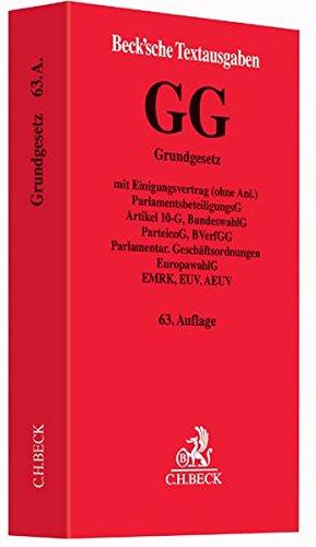 9783406686450: Grundgesetz für die Bundesrepublik Deutschland