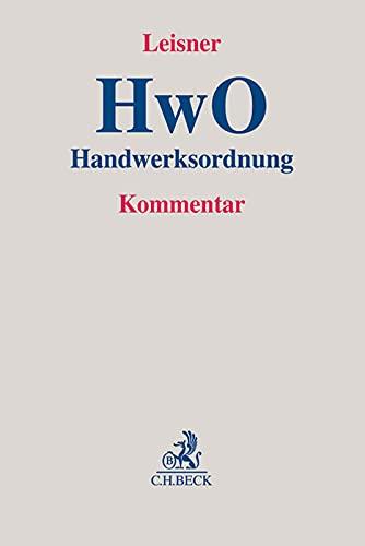 Handwerksordnung: Walter Georg Leisner