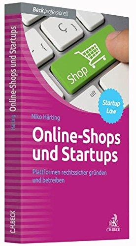 9783406690501: Online-Shops und Startups
