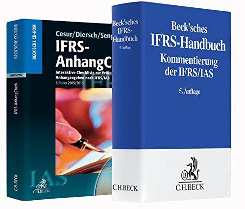 Kombination Beck'sches IFRS-Handbuch und IFRS-AnhangCheck 2015/2016. Buch und CD-ROM
