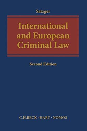 9783406694752: International and European Criminal Law