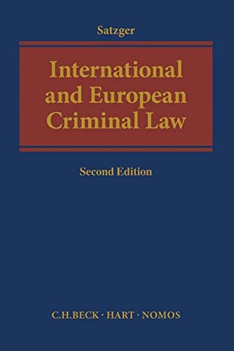 9783406694752: International and European Criminal Law