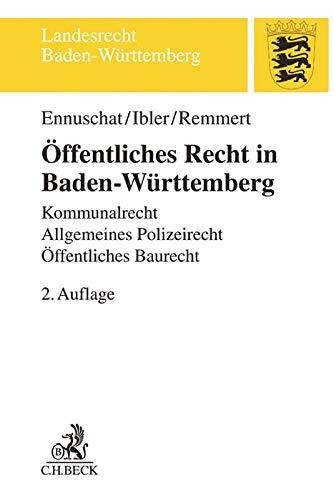 Ennuschat, J: Öffentliches Recht in Baden-Württemberg: Ennuschat, Jörg; Ibler,