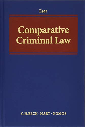 9783406702778: Comparative Criminal Law: Development, Aims, Methods