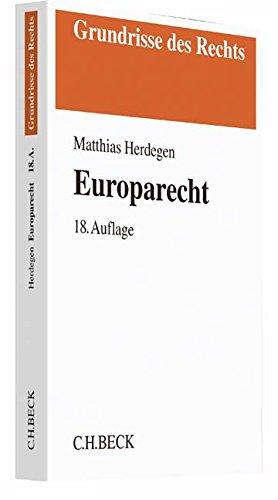 9783406702792: Europarecht